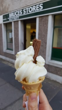 Ice-cream from Bruce's