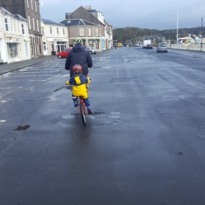 Hire bikes from On Your Bike, Cumbrae