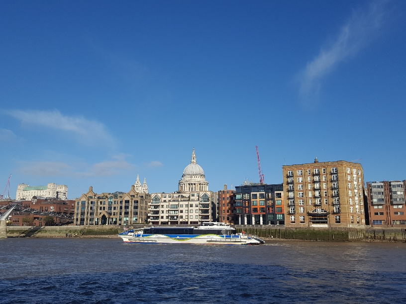 Cruising the Thames Clippers in London with Kids