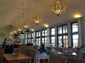 The cafe at Gordon Castle's Walled Garden