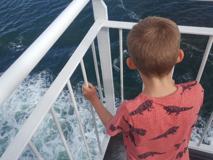 Ferry to Shetland with Kids