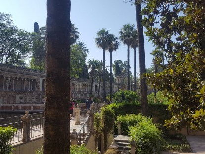The gardens of the Real Alcazar