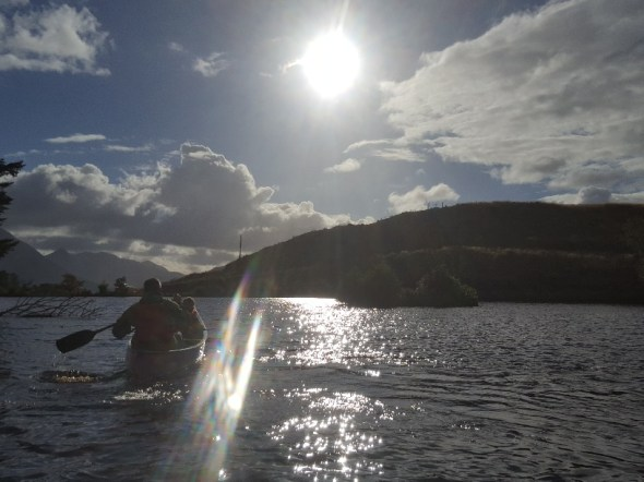 Canadian Canoeing at Raasay House