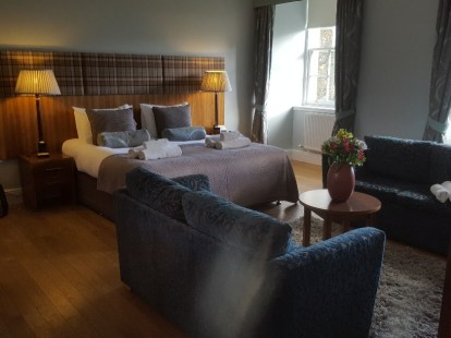 The Balcony Suite at Raasay House