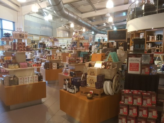 Shopping opportunities and local produce at Spey Valley