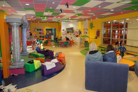 Activity Centre - image courtesy of Macdonald Aviemore Resort
