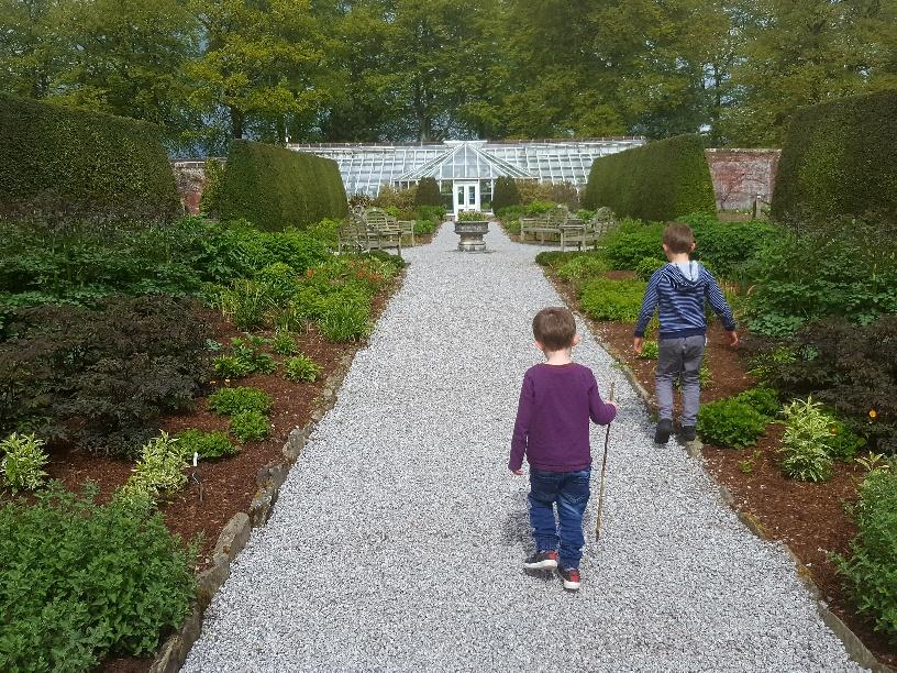 Threave Garden Castle Douglas with Kids