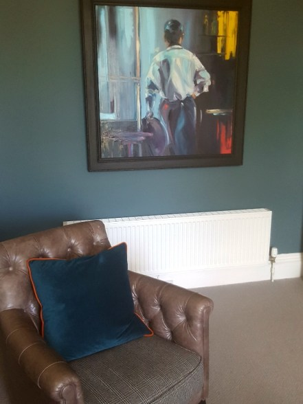 Art by Peter Nardini in the Georgian Suite