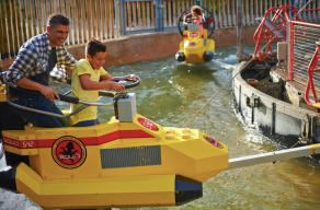 Water rides at Legoland Windsor