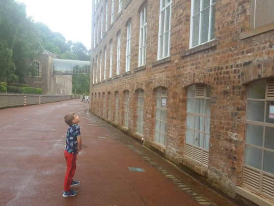 New Lanark with Kids