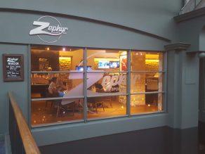 Zephir, the vegan sports bar