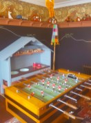 Games room at the Fife Arms