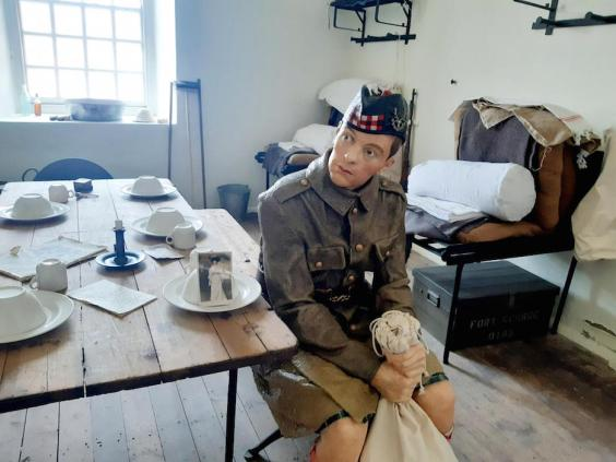 A soldier's life imagined