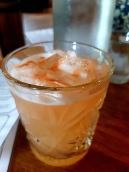 Cocktails at Copper Dog - Sour Dog