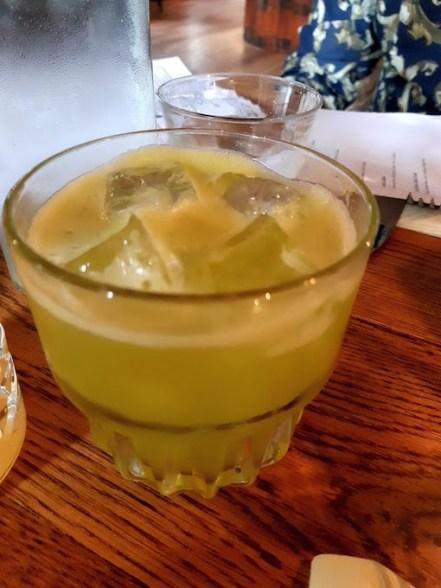 Cocktails at Copper Dog - Apple Dog