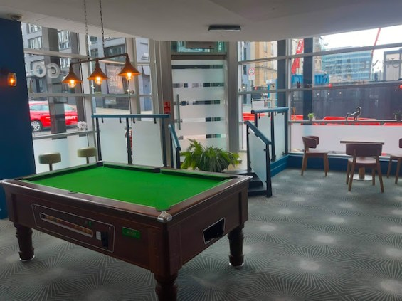 Games space at the Novotel