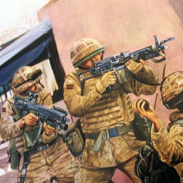 Prints of BN in Afganistan