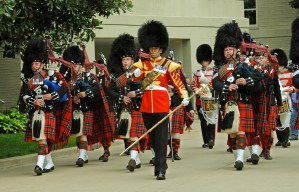 scots drums pipes