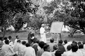 Tagore and Shantiniketan