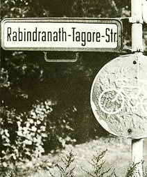 Rabindranath Tagore Street in Berlin, opened in 1961  (Photo: Christian Zeiske, Berlin)