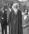 Rabindranath Tagore and family