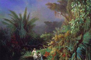 Henri Pierre Leon Pharamond Blanchard - Paul et Virginie, 1844