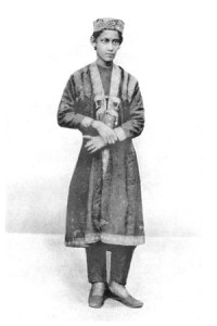Rabindranath Tagore as a child