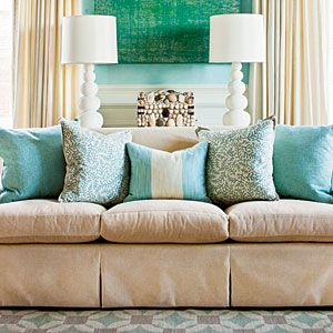 Sofa Cushion Styling