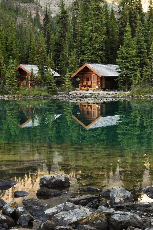 Surreal Reflection in the Lake