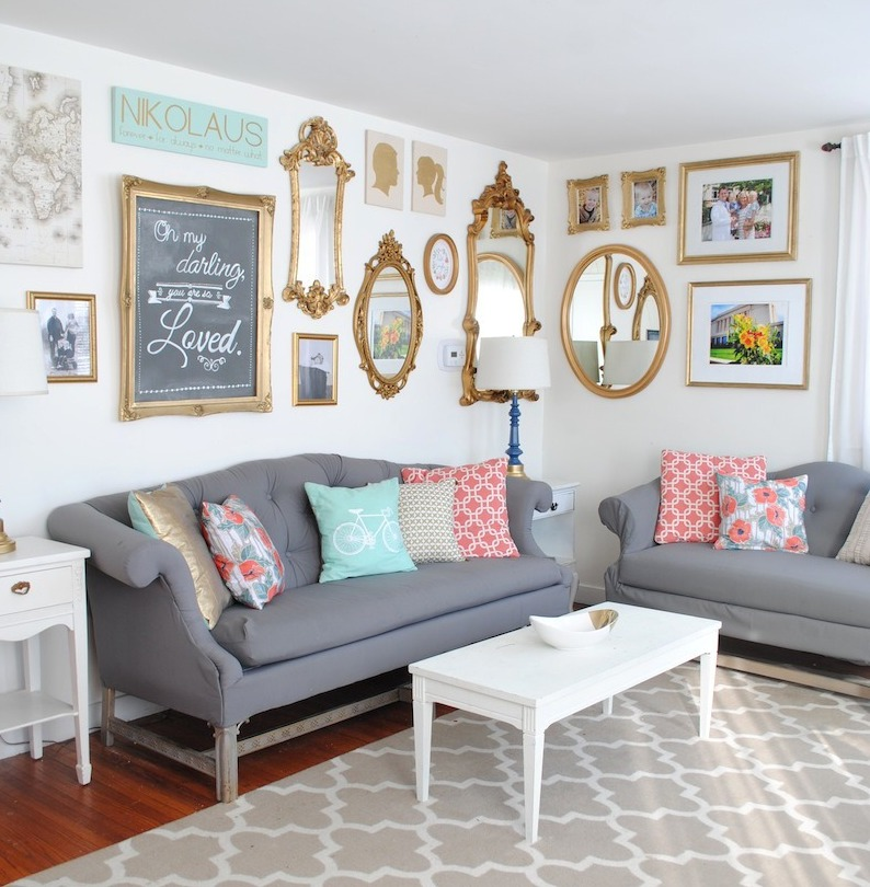 Gold Glam Wall