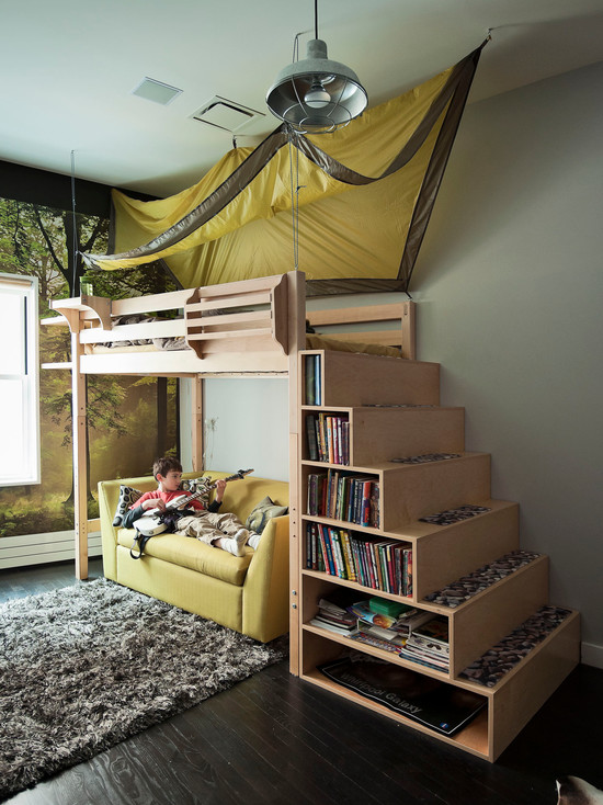 Space-saver Bunk Bed