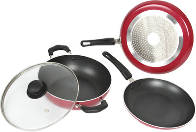 Induction Bottom Non Stick Cookware Set