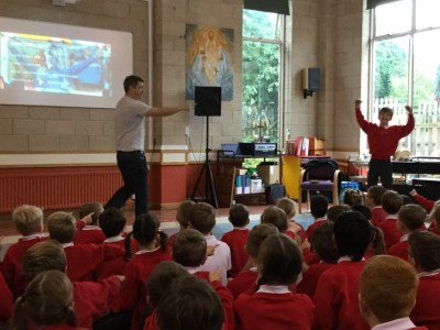 Llama United primary prize school talk Wetherby
