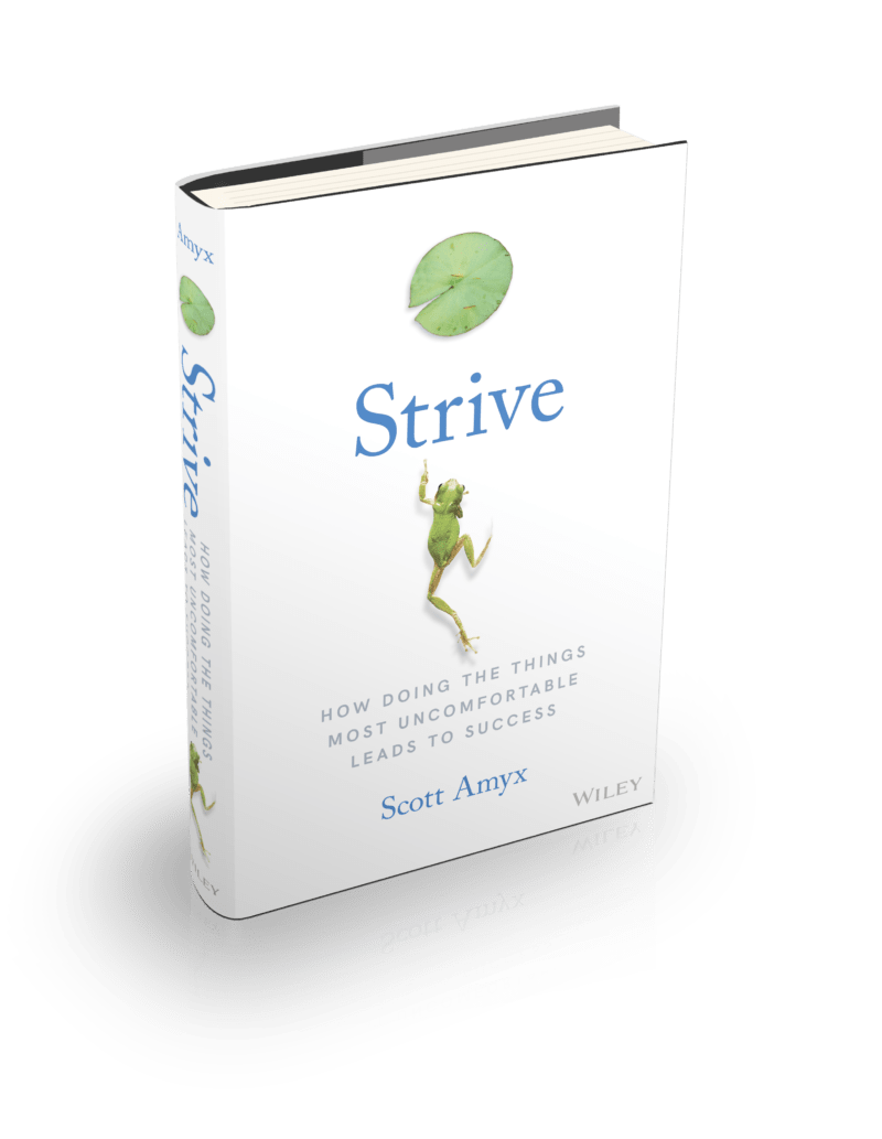 Strive Book by Scott Amyx