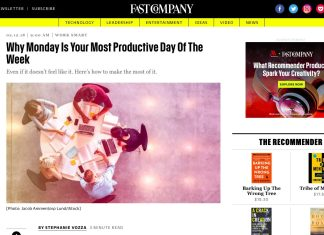 Scott Amyx Interviewed on Fast Company Strive Author