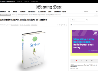Scott Amyx on Chicago Evening Post_Strive How Doing the Things Most Uncomfortable Leads to Success