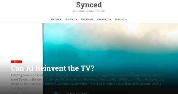 Scott Amyx Interviewed by Synced Review on AI TV