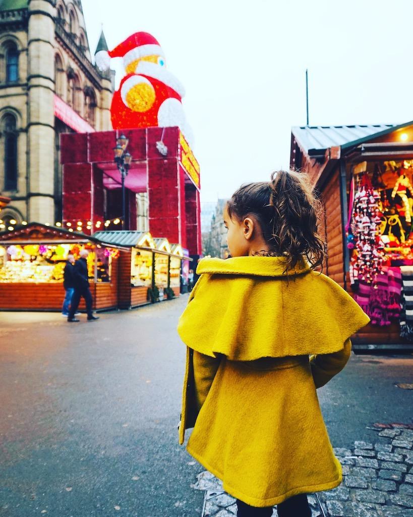 Christmas Markets Manchester England