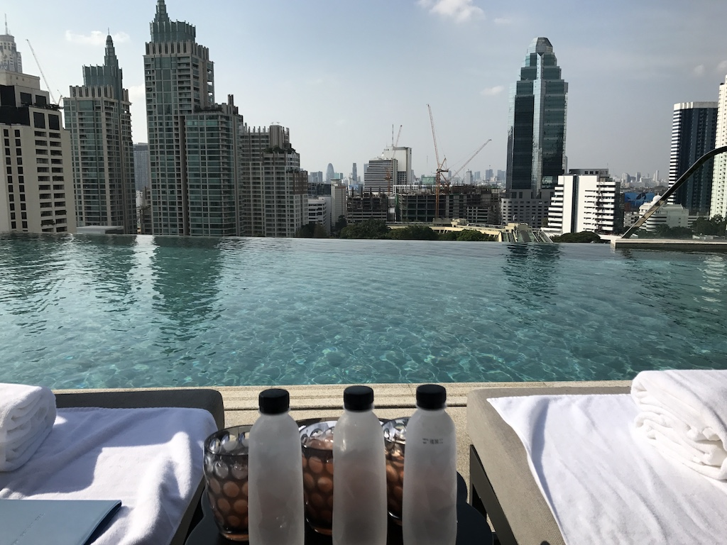 Travel Bangkok Thailand for the Infinity pool sights