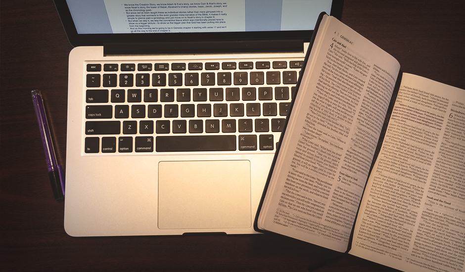 The 3 Places I Write Sermons