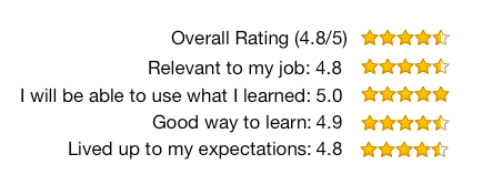 workshop rating 4