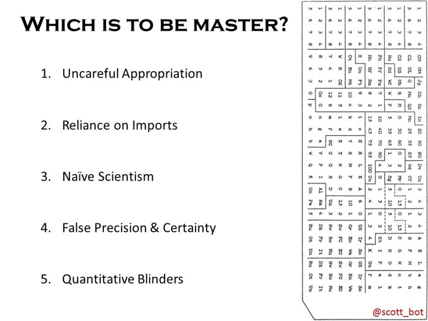 Which is to be master - questions
