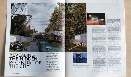 Scott Burnham Interview in Totally Stockholm Magazine
