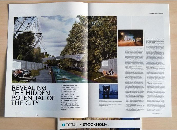 Scott Burnham Interview in Totally Stockholm Magazine