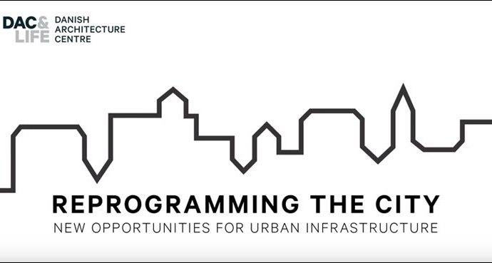 Scott Burnham giving an overview of Reprogramming the City, Danish Architecture Centre, Copenhagen