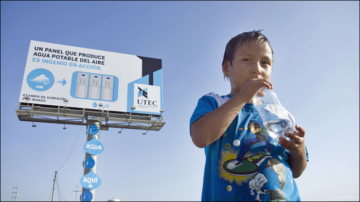 UTEC Water Billboard