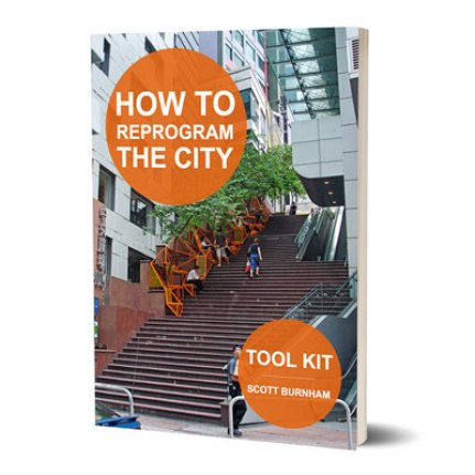 How to Reprogram the City Toolkit: Urban Adaptive Reuse, Repurposing Urban Objects