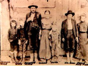 D. Fayette ROSE, Sarah BARNETT and Children