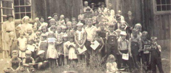 Greens Chapel Church, 1940's