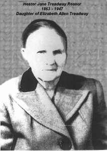 Hester Jane Treadway Reasor